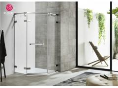玫瑰岛:如何买到干湿分离效果好的高水密性淋浴房