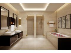 2018北京建材展直击第二天|玫瑰岛全卫定制重新定义美好卫浴生活